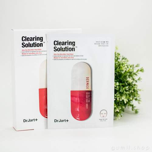 Dr. Jart+ Dermask Micro Jet Clearing Solution™ (Red Pill) Sheet Mask