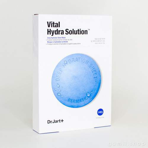 Dr.Jart+ Dermask Vital Hydra Solution Deep Hydration Sheet Mask (Blue Pill), sheetmask,Dr. Jart+, asian skincare