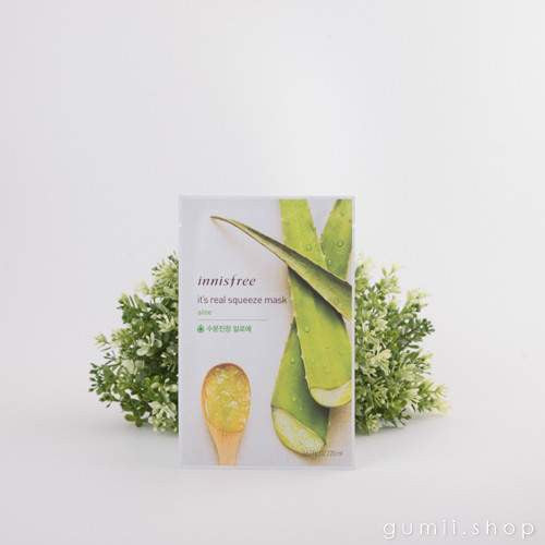 Innisfree It's Real Squeeze Hydrating Mask Sheet Aloe