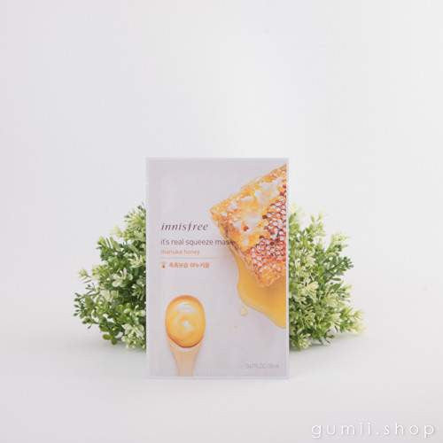 Innisfree It's Real Squeeze Hydrating Mask Sheet Honey, sheetmask,innisfree, asian skincare