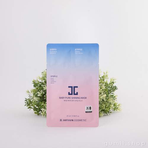 JAYJUN Baby Pure Shining Hydration 3 Step Mask,Sheet Mask,JayJun, Asian skin care