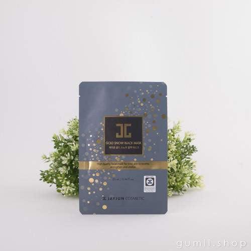 JAYJUN Gold Snow Black Hydration Mask,Sheet Mask,JayJun, Asian skin care