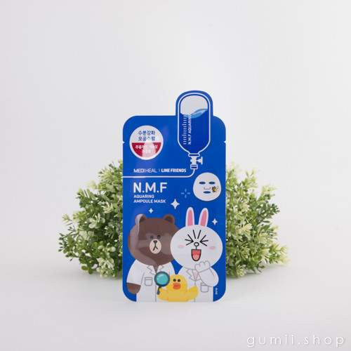 Mediheal Line Friends  N.M.F All Friends Moisturizing Mask