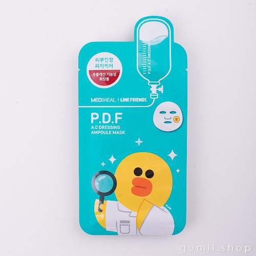 Mediheal Line Friends  P.D.F. AC DUCK Mask