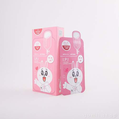 Mediheal Line Friends I.P.I. Lightmax  BUNNY Mask, sheetmask,Mediheal, asian skincare