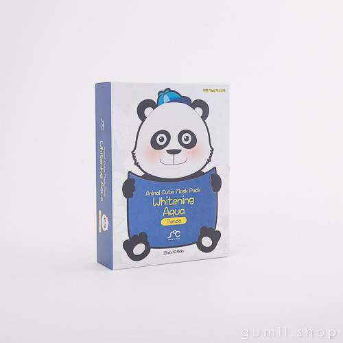 Rainbow Animal - Whitening- Panda Mask,Sheet Mask,Sense of Care, Asian skin care