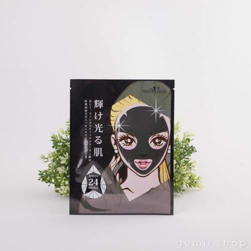 SexyLook Ceramide Black Mineral Mask  ANTI-AGING ( Black Pack),Sheet Mask,sexylook, Asian skin care