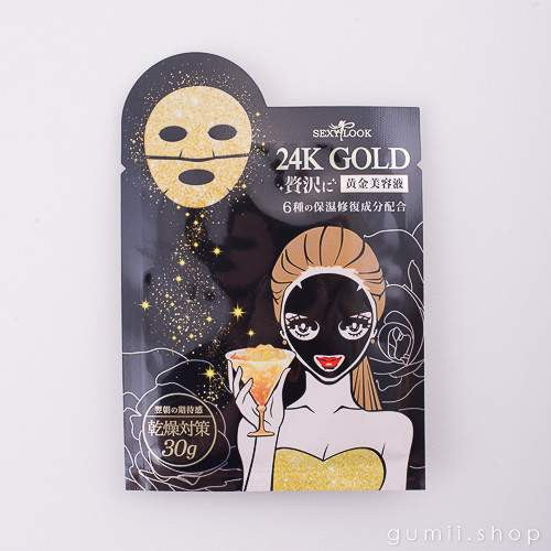 SexyLook Mask ANTI-AGING 24K Gold (Gold Pack),Sheet Mask,sexylook, Asian skin care