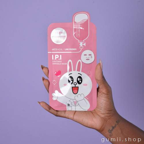 Mediheal Line Friends I.P.I. Lightmax  BUNNY Mask,Sheet Mask,Mediheal, Asian skin care