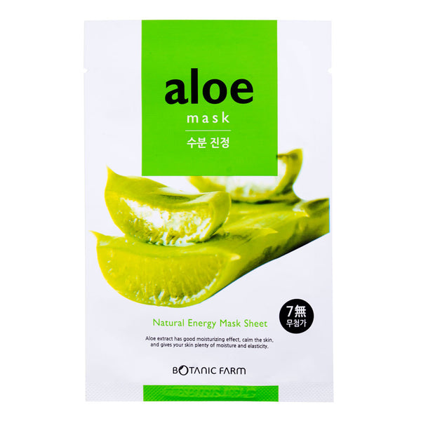 Botanic Farm Aloe Natural Energy Mask Sheet