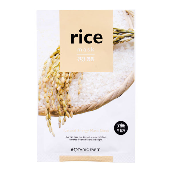 Botanic Farm Rice Natural Energy Mask Sheet