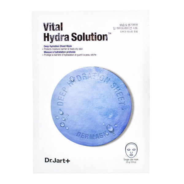 Dr.Jart+ Dermask Vital Hydra Solution Deep Hydration Sheet Mask (Blue Pill)
