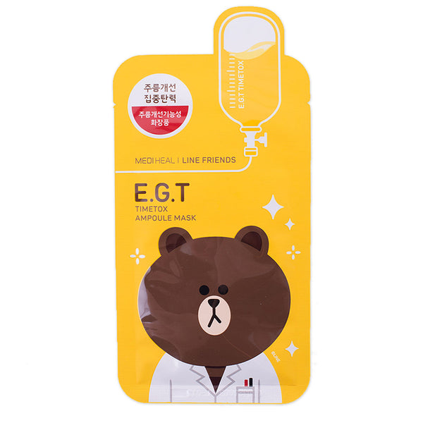 Mediheal Line Friends E.G.T. Timetox BEAR Mask