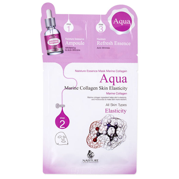 Naisture 3 Step Marine Collagen Skin Elasticity Mask