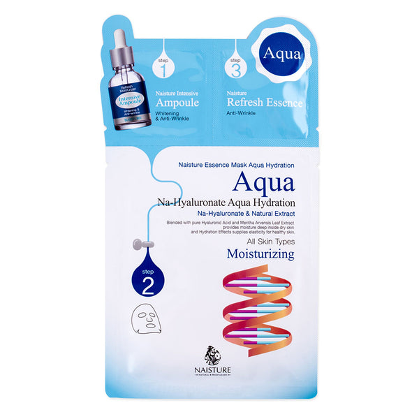 Naisture 3 Step Na-Hyaluronate Aqua Hydration Mask