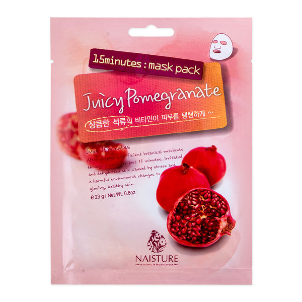 Naisture 15 Minute Mask - Pomegranate