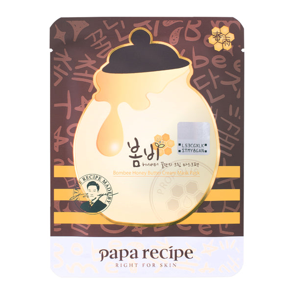 PAPA RECIPE Honey Butter Cream BOMBEE Mask
