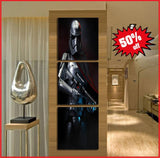 awesome starwars art canvas