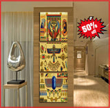 awesome egyptian art canvas 3 piece