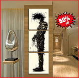 edward art canvas awesome 3 piece set