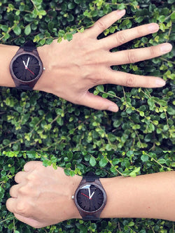Dark Bamboo Wristwatch