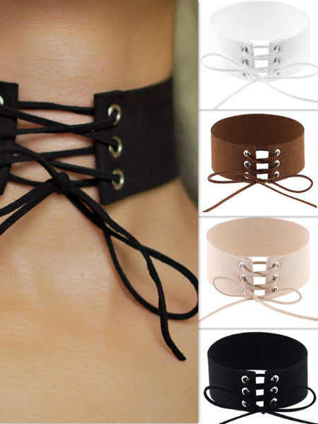 Hot Leather Chokers