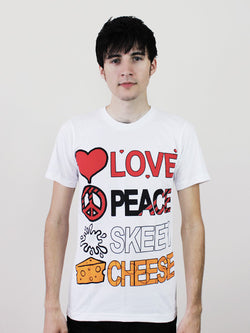 Love Peace Skeet Cheese