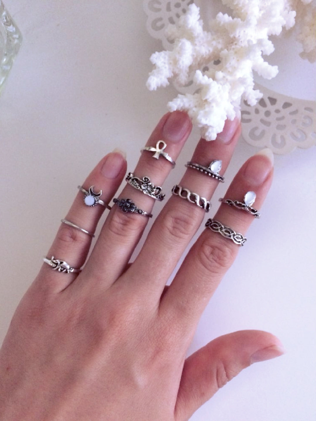 Moonchild Rings