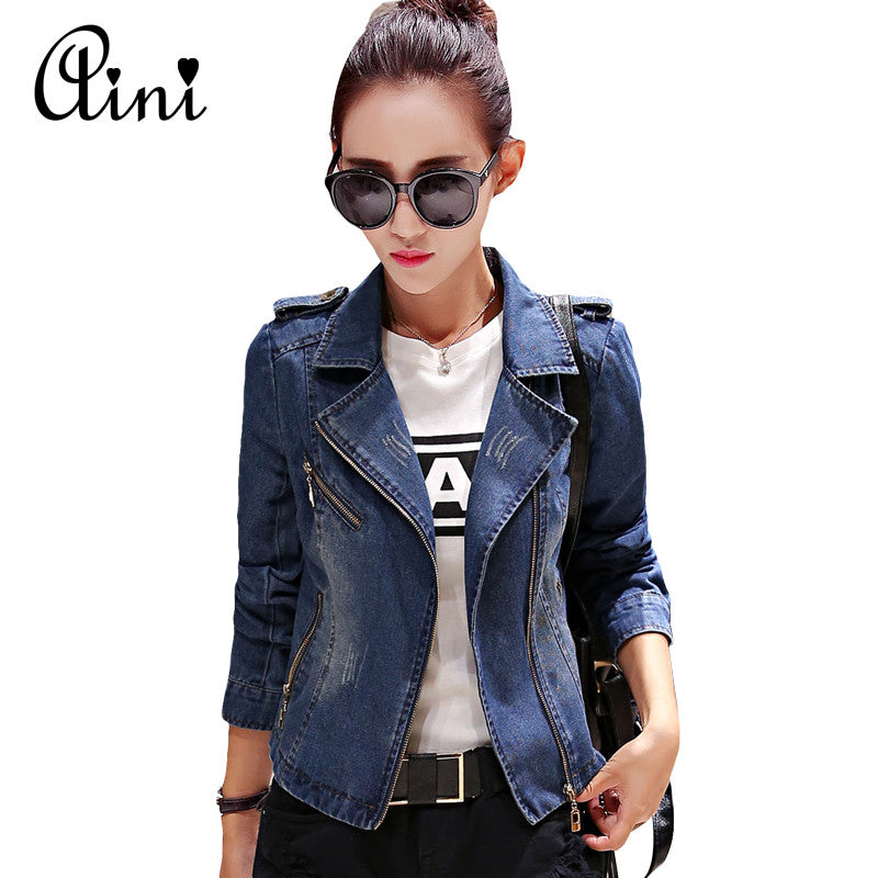 Korean Style Denim Jacket