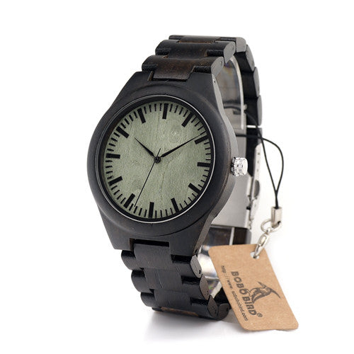 Dark Bamboo Watch