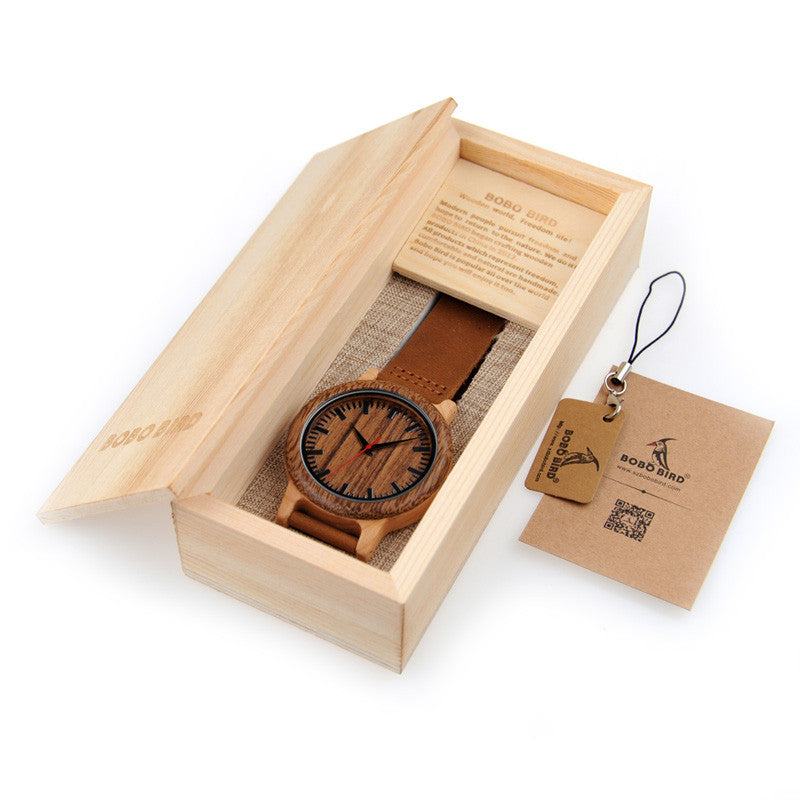 Bobo Bird Wood Watch