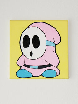 Mario Shyguy Canvas