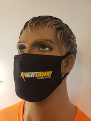 Personalized face mask with company logo