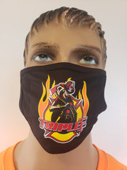 Personalized face mask with Triple F Logo