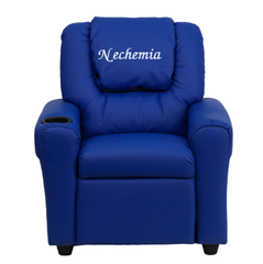 Embroidered Kids Recliner