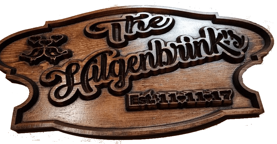 Custom Carved Wooden Signs | Cabin Signs | Lake House Signs | ManCave Signs | Personalized Wood Sign