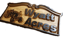 Load image into Gallery viewer, Personalized Carved Wooden Signs | Cabin Signs | Lake House Signs | ManCave Signs | Custom Wood Sign | DG Custom Graphics