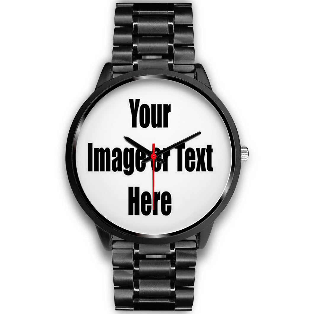Personalized Watch with Full Color Artwork, Photo or Logo