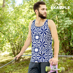 Your Personal Design All Over Your Own Tank Top | DG Custom Graphics