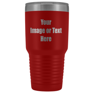 Personalized Laser Engraved 30 oz. Vacuum Tumbler