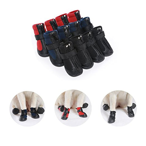 Custom Personalize Design Your Waterproof Puppy Dog Shoes Booties Boots (Pet Clothing) | DG Custom Graphics
