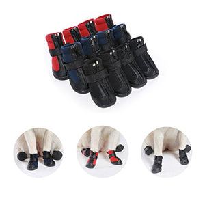 Custom Personalize Design Your Waterproof Puppy Dog Shoes Booties Boots (Pet Clothing)