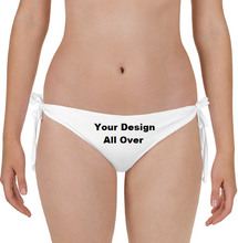 Load image into Gallery viewer, Your Personal Design All Over Bikini Bottom Swim Suit