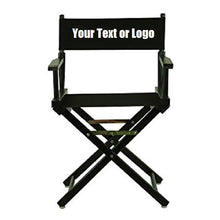 Load image into Gallery viewer, Custom Designed Folding Directors Chair With Your Personal Or Business Logo. | DG Custom Graphics