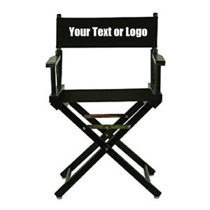 Custom Designed Folding Directors Chair With Your Personal Or Business Logo. | DG Custom Graphics