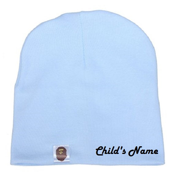 Custom Personalized Monogrammed/Embroider Your Child's Beanie Hat | DG Custom Graphics