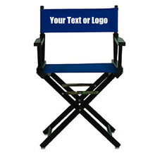 Load image into Gallery viewer, Custom Designed Folding Directors Chair With Your Personal Name Or Business Logo.