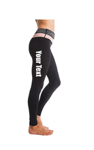 Load image into Gallery viewer, Custom Personalized Designed Ombre Yoga Pants Workout Leggings | DG Custom Graphics