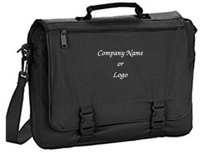 Custom Personalized Expandable Briefcase | DG Custom Graphics