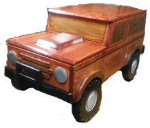 Custom Carved Wooden Bronco Toy Box / Personalized License Plate with Childs Name